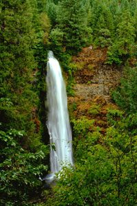 Mill Creek Falls on the Upper Rogue River, Oregon by the Bureau of Land Management.