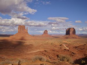 Monument Valley Navajo Tribal Park in Northeast Arizona by Carol Highsmith.