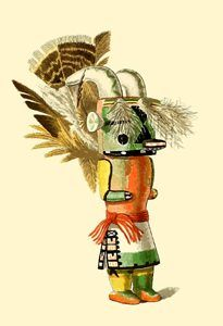Mountain Sheep Kachina Doll