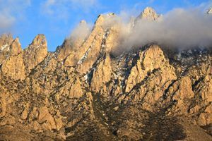 Organ Mountains in Southeast, New Mexico by the Bureau of Land Management.
