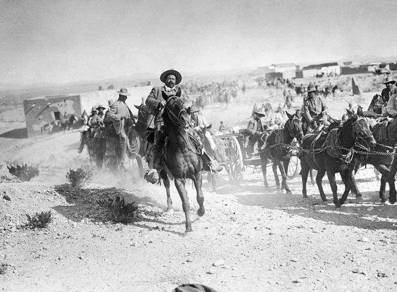 Pancho Villa at Columbus, New Mexico