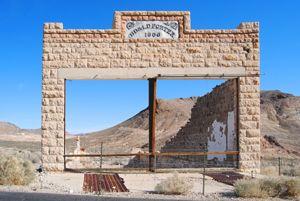 Porter General Store in Rhyolite, Nevada by Kathy Weiser-Alexander.