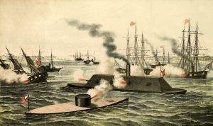 Civil War Ships by Henry Bill, 1862.