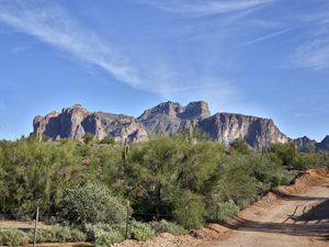 The Superstition Mountains by Carol Highsmith.