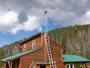 Cabin Wind Generator