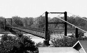 Key Bridge, Bridgeport, Oklahoma 1929.