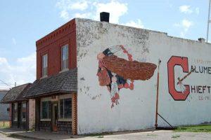 Calumet, Oklahoma Buildings by Kathy Weiser-Alexander.