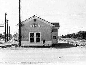 Frisco Depot, Chelsea, Oklahoma