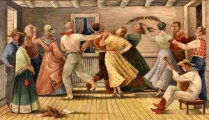 Cowboy Dance by Jenne Magafan, 1941.
