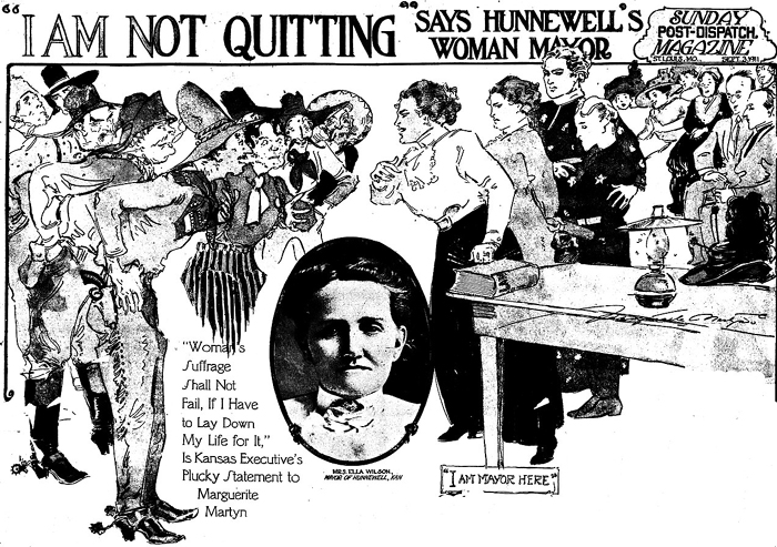 """I'm Not Quitting!"" -- Ella Wilson"