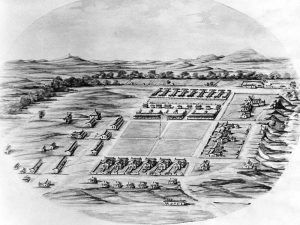 Fort Sill, Oklahoma late 1800s.