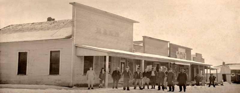 Early days in Foyil, Oklahoma