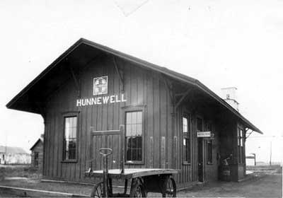 Hunnewell, Kansas Depot