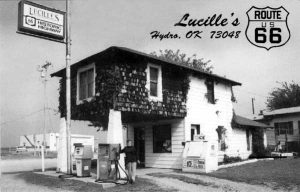 Lucille's, Hydro Oklahoma Postcard