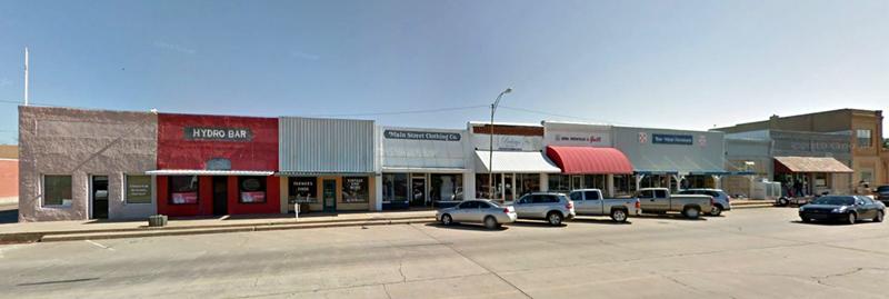 Hydro, Oklahoma Main Street
