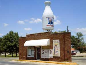 Braum's Milk Bottle building, Oklahoma City ,Oklahoma
