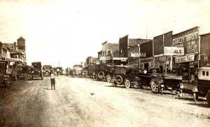 Shamrock, Oklahoma during its boom days.