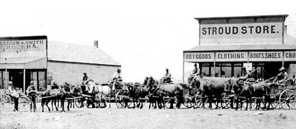 Stroud, Oklahoma 1900.