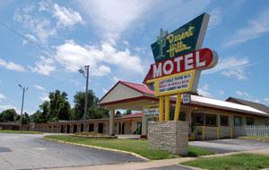 Desert Hills Motel in Tulsa, Oklahoma