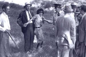 Blanche Barrow after her capture