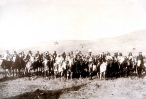Chief Joseph's band of warriors, 1877.