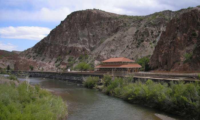 Clifton Arizona Railroad Depot