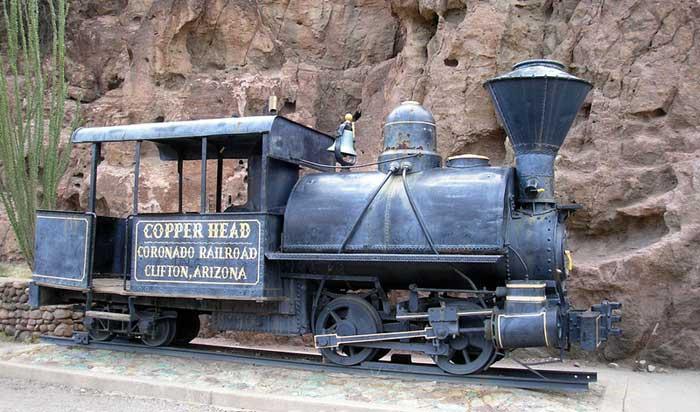 Locomotive Engine Clifton, Az