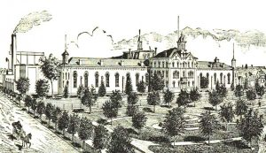 House of Corrections in Detroit, Michigan 1884.