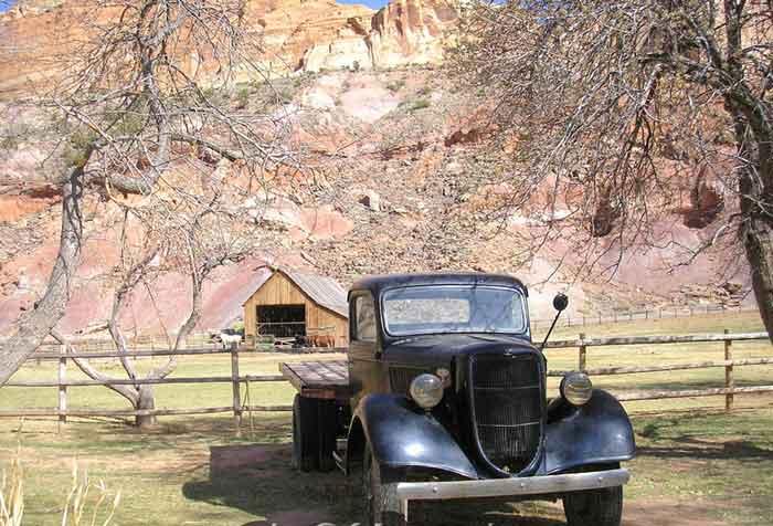 Fruita, Utah - Truck And Barn