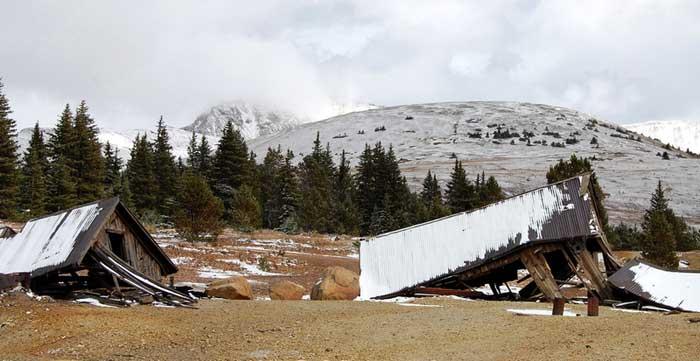 Mining Ruins near Leadville, Co