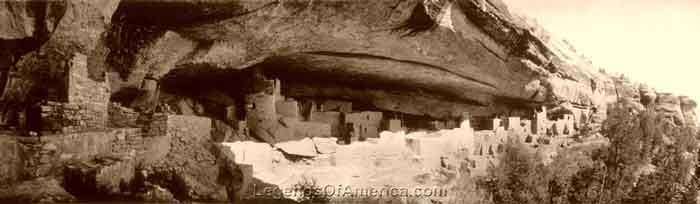 Mesa Verde, CO - Cliff Palace, 1918