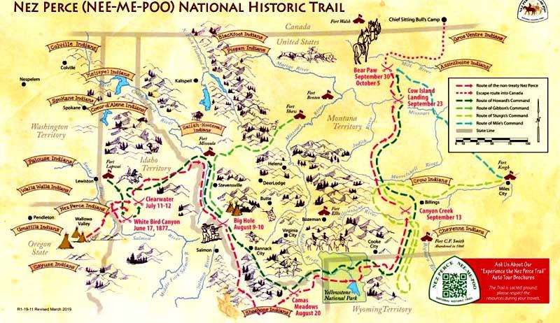 Nez Perce National Historic Trail