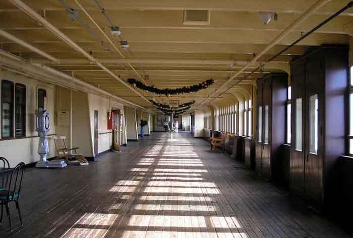 Queen Mary Deck