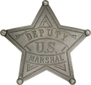 U.S. Deputy Marshal Badge