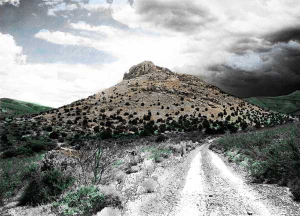 Victorio Peak, south central New Mexico