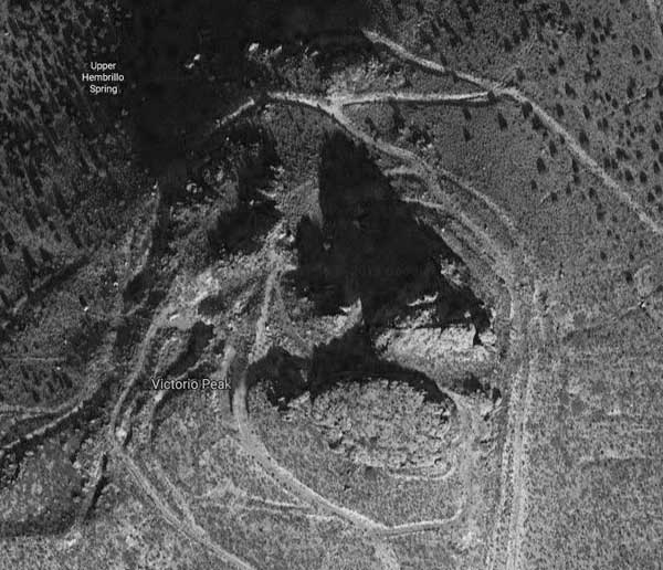 Satellite View of Victorio Peak