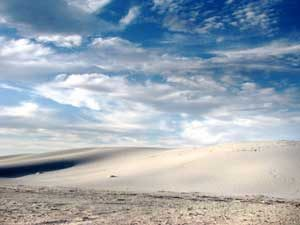 White Sands, New Mexico by the National Park Service.