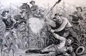 Zip Wyatt Captured by the Police News, 1895.