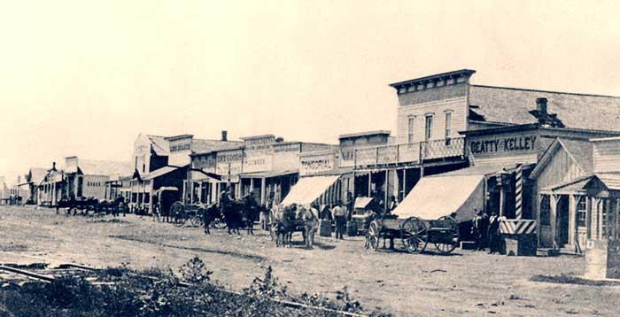 Dodge City Kansas 1875