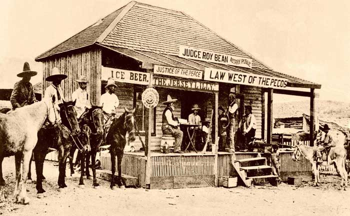Judge Roy Bean's Jersey Lilly Saloon in Langtry, Texas