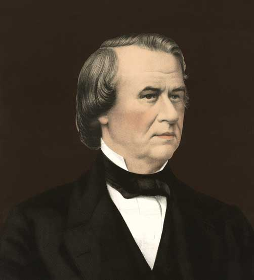 Andrew Johnson by Bingham & Dodd, 1866