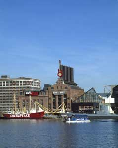 Baltimore, Maryland Inner Harbor, Chesapeake Bay by Carol Highsmith.