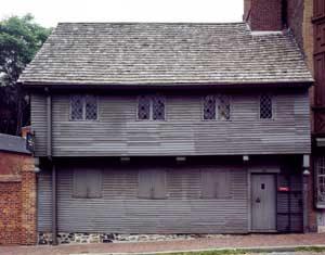 Paul Revere House in Boston, Massachusetts by Carol Highsmith.