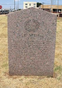 Camp Cureton, Texas Historical Marker