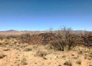 Camp Date Creek, Arizona ruins by Chris Bauer, Google Maps