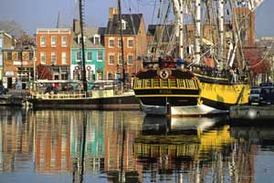 Chesapeake Bay, Fells Point, Maryland by Middleton Evans, National Park Service.