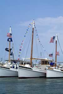 Tangier Fleet, Chesapeake Bay, Virginia by Stark Jett, National Park Service.