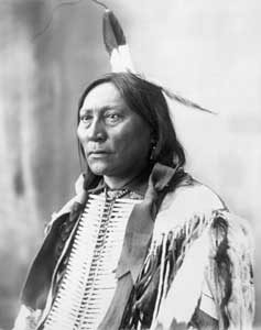 Chief Hollow Horn Bear by Adolph F. Muhr, 1913