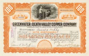 Death Valley Copper Company