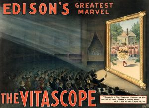 Thomas Edison's Vitascope.